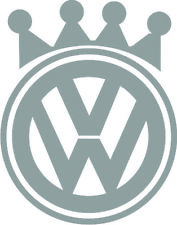 VW King Vinyl Decal Sticker Euro VAG Golf Jetta GTI GLI MK1 MK2 MK3 MK4 MK5 MK6