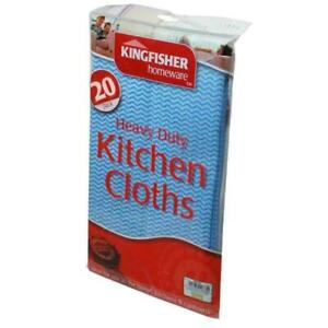 GENERAL PURPOSE KITCHEN HOUSEHOLD CLOTHS 20 PACK