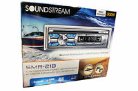 Soundstream SMR-21B Marine Boat CD/MP3/WMA Player Bluetooth AUX USB Input New