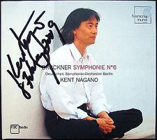 Kent NAGANO Signed BRUCKNER Symphony No.6 DSO Berlin 2005 CD