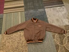 Men's Medium Vintage U-Haul Truck Trailer Rental Worker Jacket Brown Jacket