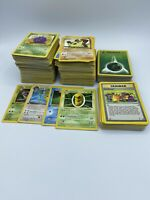 1999-2001 Pokemon Card Lot Played Very Played Condition - Shadowless 1st Edition