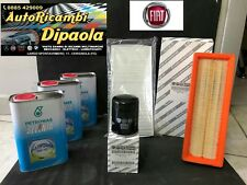 KIT TAGLIANDO FIAT 500 PANDA NATURAL POWER 1.2 GPL METANO SELENIA+3FILTRI ORIGIN