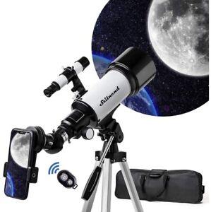 Stilnend 70mm Aperture 500mm AZ Mount Astronomical Refractor Telescope