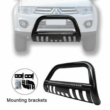 09-15 Mitsubishi Triton Led Nudge Bar Bumper Grill Gurad with 72W Led light Bar