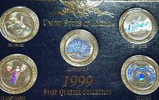 1999 state quarter collection hologram