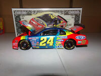 1/24 JEFF GORDON #24 DUPONT / MILLION DOLLAR DATE  1997 ACTION NASCAR DIECAST