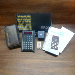 "HP-21 RARE ""WOODSTOCK"" VINTAGE CALCULATOR MIB WORKS PERFECTLY!"