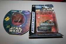 STAR WARS MICRO MACHINES JAWA SANDCRAWLER BATTLE PACK #8 DESERT PALACE JABBA