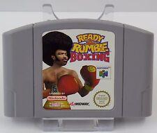 Nintendo 64 - N64 Spiel - Ready 2 Rumble Boxing + Nagano Winter Olympics 98