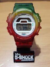 Vintage G-Shock DW-8700 Gummy Yummy Jelly Rasta Reggae Tri-Color Korea Limited