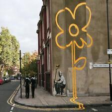 Posavasos De Vidrio Banksy Estilo Moderno Street Art Hecha en Reino Unido Art 2 glassuk Regalo 2166