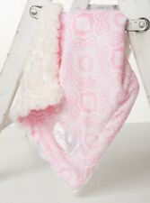 Supreme Pink/Ivory Swirl by Baby Laundry MINKY CUDDLE BLANKET-Qty 1