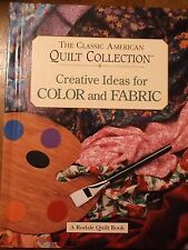 Creative Ideas for Color and Fabric by Susan McKelvey (1996, Hardcover)