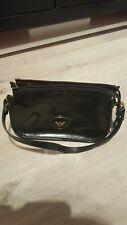 Emporio Armani Dark Green Small Evening Bag Handbag Detachable Strap Clutch
