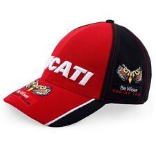 Cap Bike BSB DUCATI Be Wiser Racing Team Superbike Motorcycle NEW Red and Black