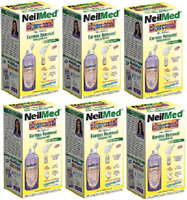 NeilMed Clearcanal Ear Wax Removal Complete Kit 2.5oz (75mL)( 6 Pack)