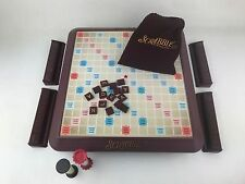 2001 Deluxe Scrabble Crossword Turntable Game Board Game - 100% Complete