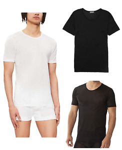 Zimmerli Royal Classic 100% Cotton Short Sleeved Crew Neck T-Shirt 8125 RRP £70