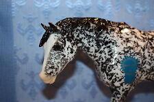 New Breyer Vintage Club ISABELLE Indian Pony Mold Dapple Black  Test Sample
