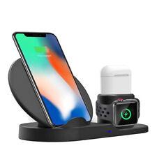 Chargeur De Batterie Sans Fil Qi Charge Rapide Pour Apple Watch Iphone