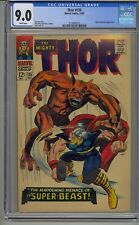 THOR #135 CGC 9.0 HIGH EVOLUTIONARY APPEARANCE WHITE PAGES