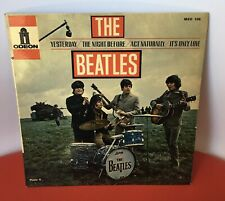 The Beatles 'Yesterday' EP French Original