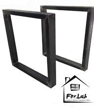 2x Steel Table base leg stand foot / Gambe tavolo in ferro design Moderno