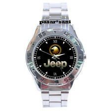 NEW JEEP GOLDEN EAGLE MUSCLE CAR Custom Chrome Men Wristwatch Men's Watches Gift