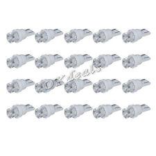 20 UNIDADES T10 Coche LED blanco 194 168 SMD W5W Cuña Lámpara Piloto Lateral luz
