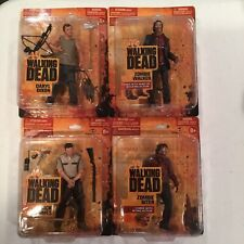 AMC The Walking Dead Rare Series 1 Small Card Action Figures Rick Daryl Zombies