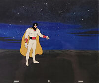 Space Ghost Original Production Cel With Matching Original Production Drawing