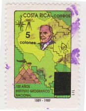 (CR141) 1989 Costa Rica 18col Dr Henry Pitter ow1494