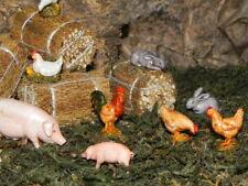 "Landi Animal Set /12 for 3.5"" Nativity Scene Figurines Presepio Pesebre Animales"