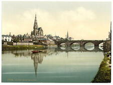 Irvine desde el río A4 Foto Impresión