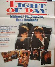 Michael J Fox  Joan Jett LIGHT OF DAY (1987) Original video release poster