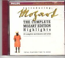 (DM408) Introducing Mozart - 19 Complete Movements & Arias - 1990 CD