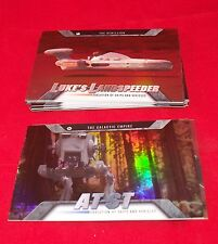 Star Wars EVOLUTION    Complete MINI - MASTER Trading Card Set    Topps 2016
