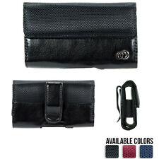Universal Belt Clip Holster for Cell Phone Slim Compact Case Synthetic Leather