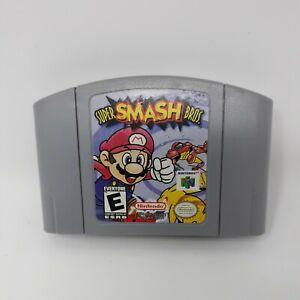 Super Smash Bros. (N64, 1999) Authentic Nintendo 64 Cartridge