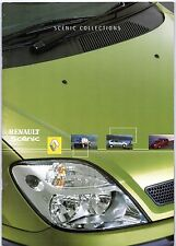 Renault Scenic Mid-Late 2001 UK Market Sales Brochure