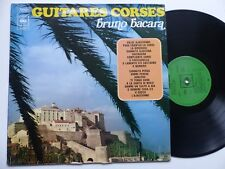Bruno Bacara – Guitares Corses CBS – S 52 899