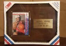 VTG 1993 Michael Jordan 3 Time NBA MVP Plaque