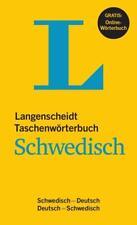 Langenscheidt Taschenwörterbuch Schwedisch - Buch mit Online-Anbindung (2015, Kunststoffeinband)