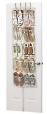 Heavy Duty 20 Pocket Over Door Hanging Shoe Organiser 10 Pairs 135 x 53 x 7cm