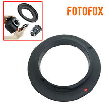 58mm Macro Reverse Mount Lens Adapter Ring Close Up For Samsung NX NX-5 NX-200