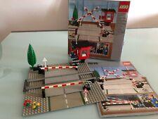 Vintage Lego Train Passage à niveau Manuel 7835