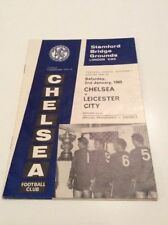 Leicester City Division 2 Home Teams L-N Football Programmes