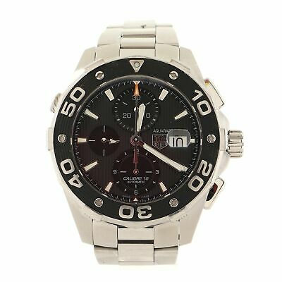 Tag Heuer Aquaracer 500M Chronograph Automatic Watch Stainless Steel 45