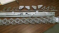 """1 3/8""""Complete 4'X4'  No Weld Gate Kit for chain link fence  Build it Yourself"""